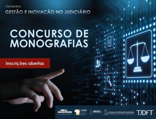 TJDFT prorroga inscrições para 1º Prêmio Ministro Cernicchiaro Concurso de Monografias