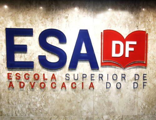 """Do """"Saber de Aparências"""" ao """"Saber Real"""": A  Modernização Recente da ESA-DF e sua  Contribuição para a Formação da Nova Advocacia"""