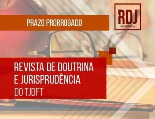 Revista do TJDFT Publica Chamada de Artigos para Publicação