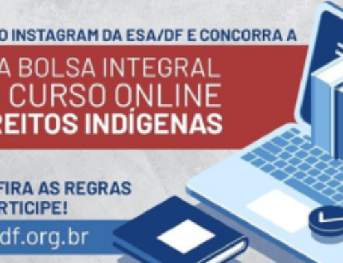 ESA/DF sorteia duas bolsas integrais para cursos on-line